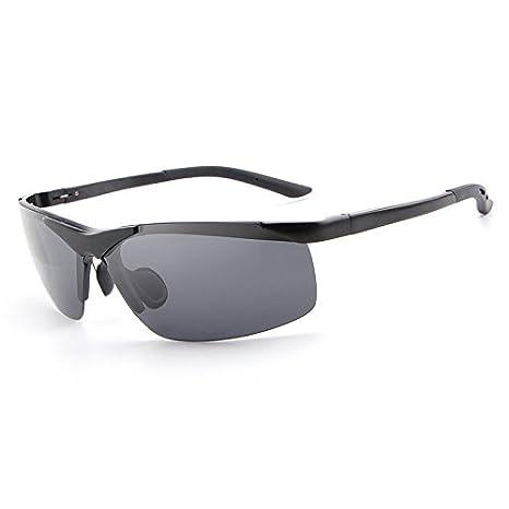 WARM home Hermoso Gafas Unisex Retro Gafas Polarizadas Hombres Gafas de Sol Gafas Moda Mujer con