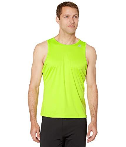 - Reebok Men's  Running Essentials Speedwick Tank, Neon Lime, XX-Large