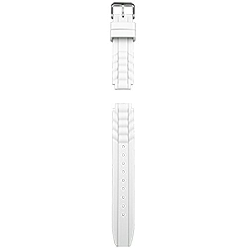 VibraLite Mini White Silicone Replacement Watch Band