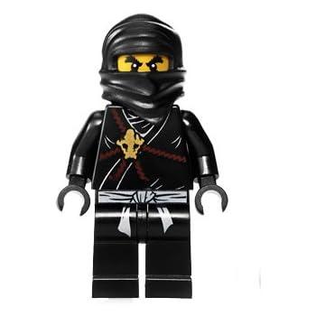 Amazon.com: Lego Cole Ninjago Minifigure - Black: Toys & Games