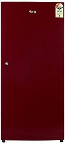 Haier 195 L 3 Star   2019   Direct Cool Single Door Refrigerator HRD 1953SR R/HRD 1953SR E, Red