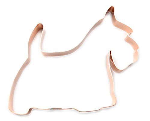 Scottish Terrier Copper Cookie Cutter