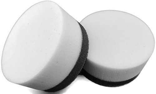 J-Pad 3 Inch Buffing Pad 2 Pack Melamine Sponge Magic for Boat Automotive Home Detailing for Drill or Rotary The Cleaner Eraser MADE IN USA