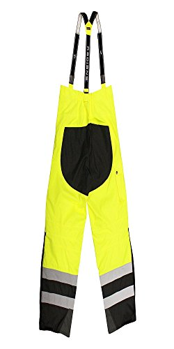 Radians RW32-EZ1Y-2X Class E Heavy Duty Rain Bibs, XX-Large, Green by Radians (Image #1)