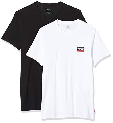 Levi's Herren 2pk Crewneck Graphic T-Shirt