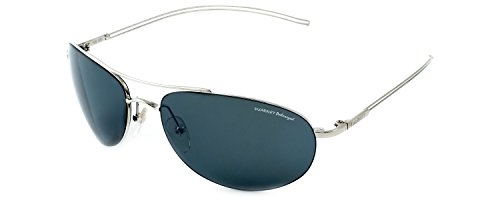 Vuarnet Designer Polarized Sunglasses VL1040-0001 Silver & - Vuarnet Sunglasses Vintage