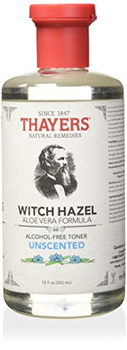 - Thayers Alcohol-free Unscented Witch Hazel Toner (12-oz.)