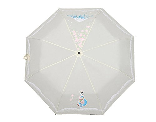 Marshel Japanese Folding Umbrella AX-JP-UMB-01-WH