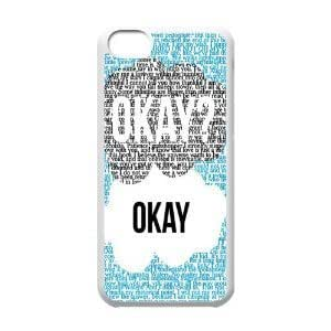 Apple iPhone 5C hard cover customized personalized Funny The Fault In Our Stars Iphone 5C Best Durable Case tiffs Okey by mcsharks