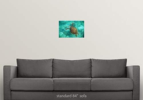 Amazon.com: GREATBIGCANVAS Poster Print Entitled A Sea ...