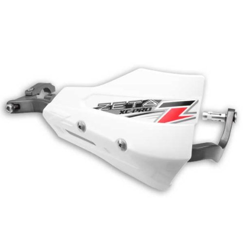Zeta XC Pro WHITE Hand Shields (Pair) for Armor Handguards ZE72-4110