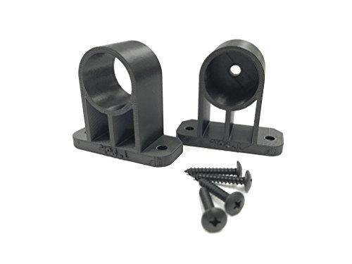 - Tiki Torch Deck Mount fits 1