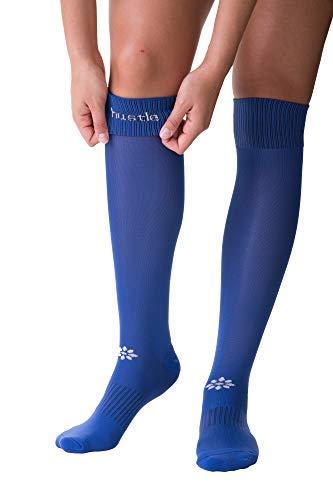 (RIP-IT Classic Softball Over The Knee Sock (Royal, Medium/Large))