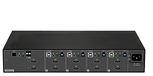 Vertiv Avocent 4 Port Dual Head Hdmi 4k Ultra Hd Kvm