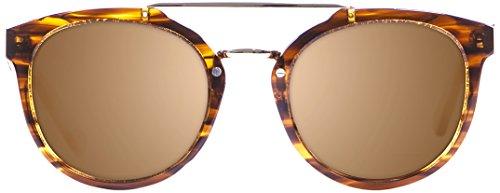 Ocean Sunglasses 14100.4 Lunette de Soleil Mixte Adulte, Marron
