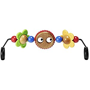 BabyBjörn Wooden Toy for Bouncer, Googly eyes