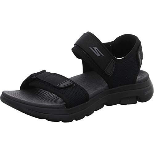 chollos oferta descuentos barato Skechers Performance Go Walk 5 Varson Zapatillas Hombre Negro BBK Black Textile Black Synthetic Trim 44 5 EU