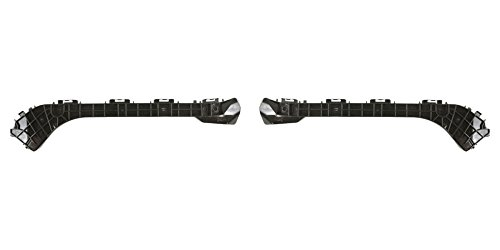 DAT 10-15 TOYOTA PRIUS PLUG-IN BLACK REAR BUMPER RETAINER SET OF TWO LEFT DRIVER RIGHT PASSENGER SIDE PAIR TO1132102 ()