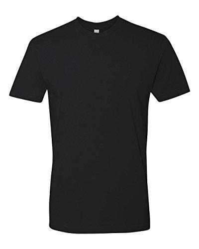 Next Level Premium Fit Extreme Soft Rib Knit Jersey T-Shirt, Blk, Medium from NEXT LEVEL APPAREL