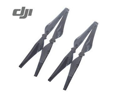 4 Pcs DJI Original Inspire Quick Release Propeller (CW+CCW) for Inspire 1 1345T, Inspire 1 V2.0 and Inspire 1 Pro - Black
