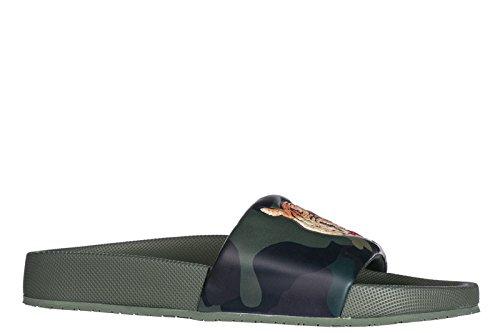 Polo Ralph Lauren Herren Badeschuhe Sandalen Gummi Grün