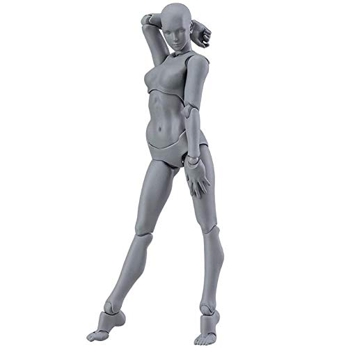 Figurines & Miniatures - Pvc Action Figure Human Movable Body Joints Doll Male Female Nude Archetype Models Collections Home - Figurines People Miniatures