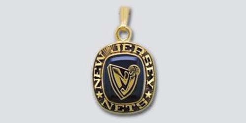 [New Jersey Nets Pendant] (New Jersey Nets Jewelry)