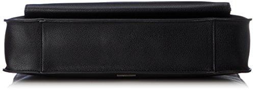 ALDO Herren Breuson Laptop Tasche, Schwarz (Black Leather), 8x30x40 cm