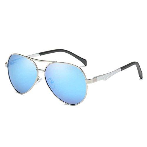 Lente 5 la polarizada Gafas Protección Lentes Las de de piloto Sol Bloqueador Vendimia de Solar Coolsir Providethebest de Sol Gafas de Conducción UV Gafas KogaUzT