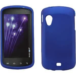 Samsung SCH-i405 Stratosphere Rubberized Snap On Cover, Blue