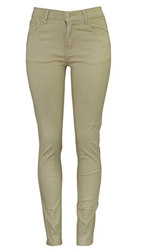 Access Pants - Access Junior's Uniform Skinny Pants (17/18, Khaki)