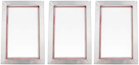 shamjina 印刷された120T 20x30の3xスクリーン印刷フレームアルミニウムポリエステルメッシュ