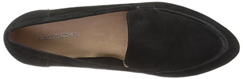 206 Collective Women's Leona Slip-on Loafer Black Suede