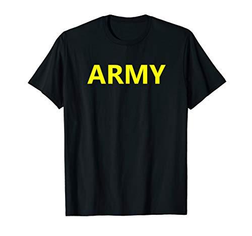 Army APFU Logo PT Shirt Workout Physical Training - Physical Logo Training Shirt