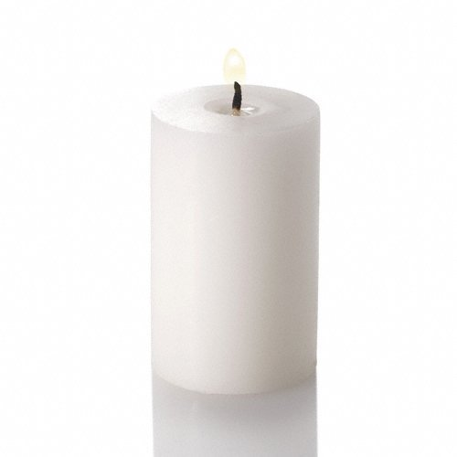 "Richland 2""x 3"" Pillar Candles White Unscented Set of 20"