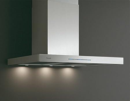 Pando - Campana decorativa P-825/70 IX 750 SEC con iluminación halógena: Amazon.es: Hogar