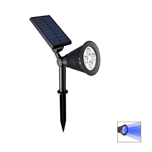 IGNATIVS Solar Outdoor Spotlights LED Waterproof Landscape L