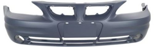 (Crash Parts Plus Primed Front Bumper Cover Replacement for 2003-2005 Pontiac Grand Am)