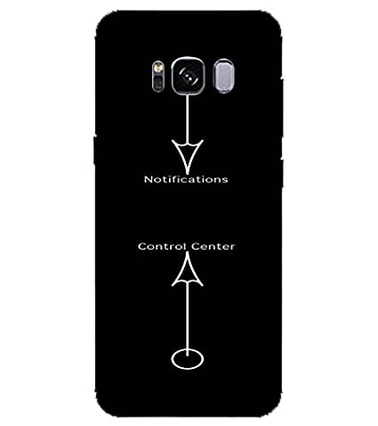 For Samsung Galaxy S8 Edge Notification, Black, Control
