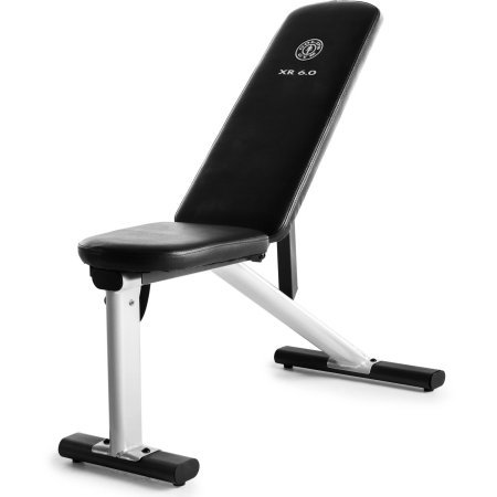 Gold's Gym XR 6.0 Adjustable Weight Bench by Golds Gym
