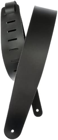 DS1-L-Blk by 3 yards. 1 inch 1  Black Genuine Double Sided Leather Strap 25 mm