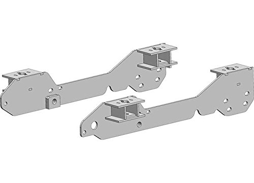 PullRite Pulliam Enterprises, 4428 Superglide Superrail Mounting Kit-Chevy 2011-2012, 2500 & 3500 by PullRite