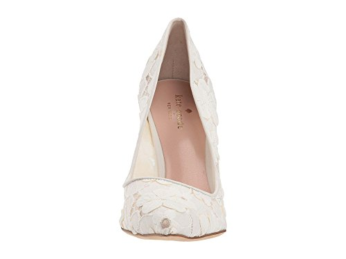 Kate Spade New York Vrouwen Drop Te Pompen Off White / Bloemkant