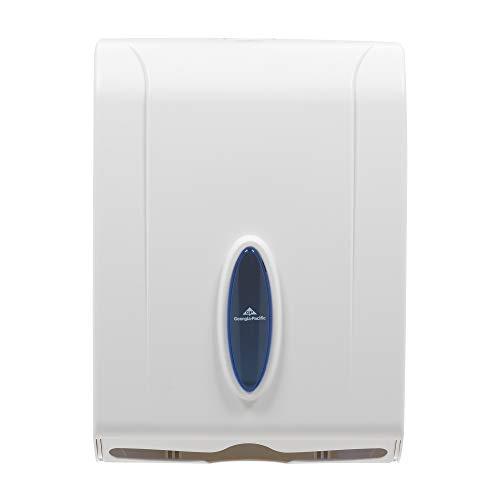 (C-Fold/Multi-Fold Paper Towel Dispenser by GP PRO (Georgia-Pacific), White, 56630/01, 11.100