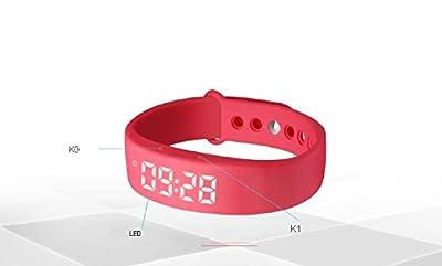 SUBA W5 Smart Bracelet, Sports, Fitness Tracker, Bluetooth Smart Watch, Activity Tracker, Healthy Wristband, Pedometer, Sleep Monitor, Waterproof