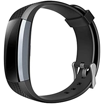 XNBZW Professional Fitness Waterproof Wristband Activity Tracker II7A Full screen control Day Battery amp Water Resistance Black Estimated Price £26.66 -