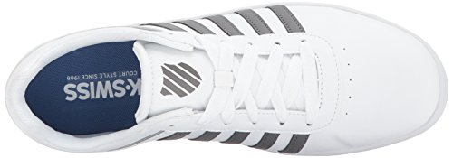 K-swiss Heren Court Cheswick S Sneaker Wit / Houtskool