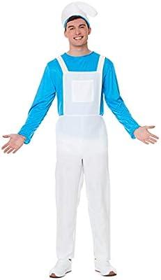 Karnival Costumes Disfraz de gnomo de jardín Azul para Hombre ...
