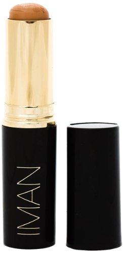 IMAN Cosmetics Second To None Stick Foundation, Medium Skin, Clay 3 (Iman Second To None Stick Foundation Earth 3)