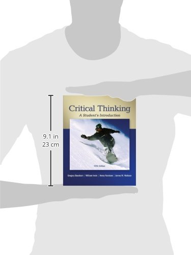 critical thinking an introduction pdf